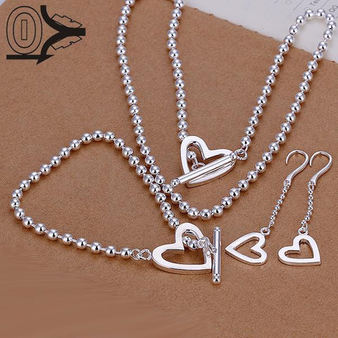 Silver Plated Jewerly Set