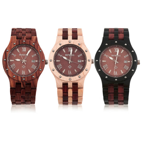 Fashion Cool Sandalwood Wooden Quartz Watch