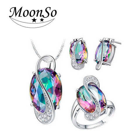 Silver Jewelry Set For Women