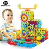 Electric Gears 3D Puzzle Building 81 Pieces