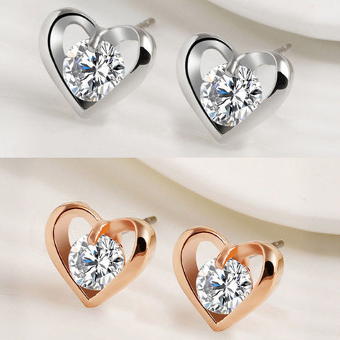 Fashion Silver or Gold Plated Earrings