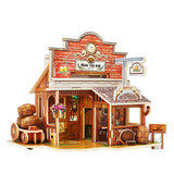 Wood Assembling Toys 3D Puzzle Educational Toys for Children