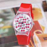 Casual Women Watch With Silicone Strap