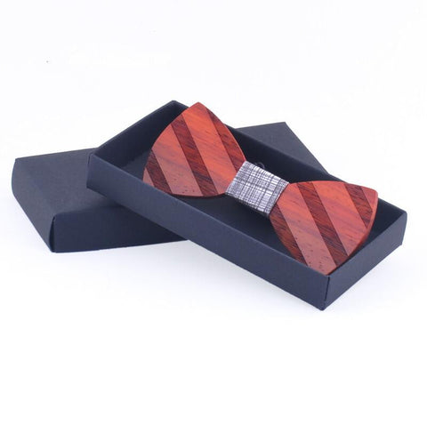 Handmade High-grade Wood  Bow Tie