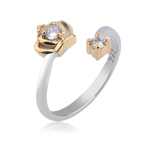 Adjustble Golden or Silver Plated Ring