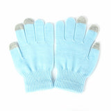 Winter Knitted Full Finger Gloves For Smart Phone