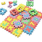 Foam Alphabet Letters And Numbers Floor