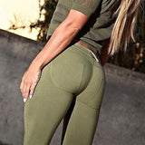 Low Waist High Elastic Leggings