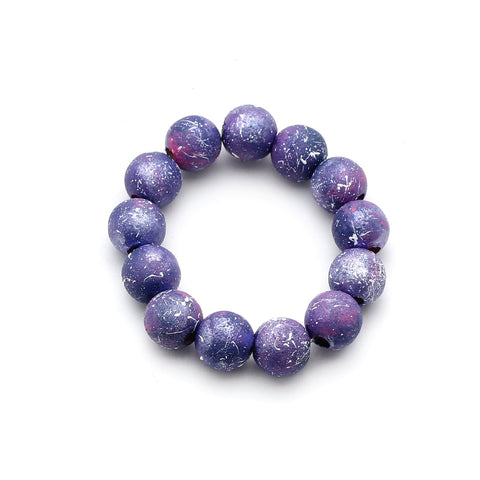 Galaxy Ombre Hand Painted Bracelet