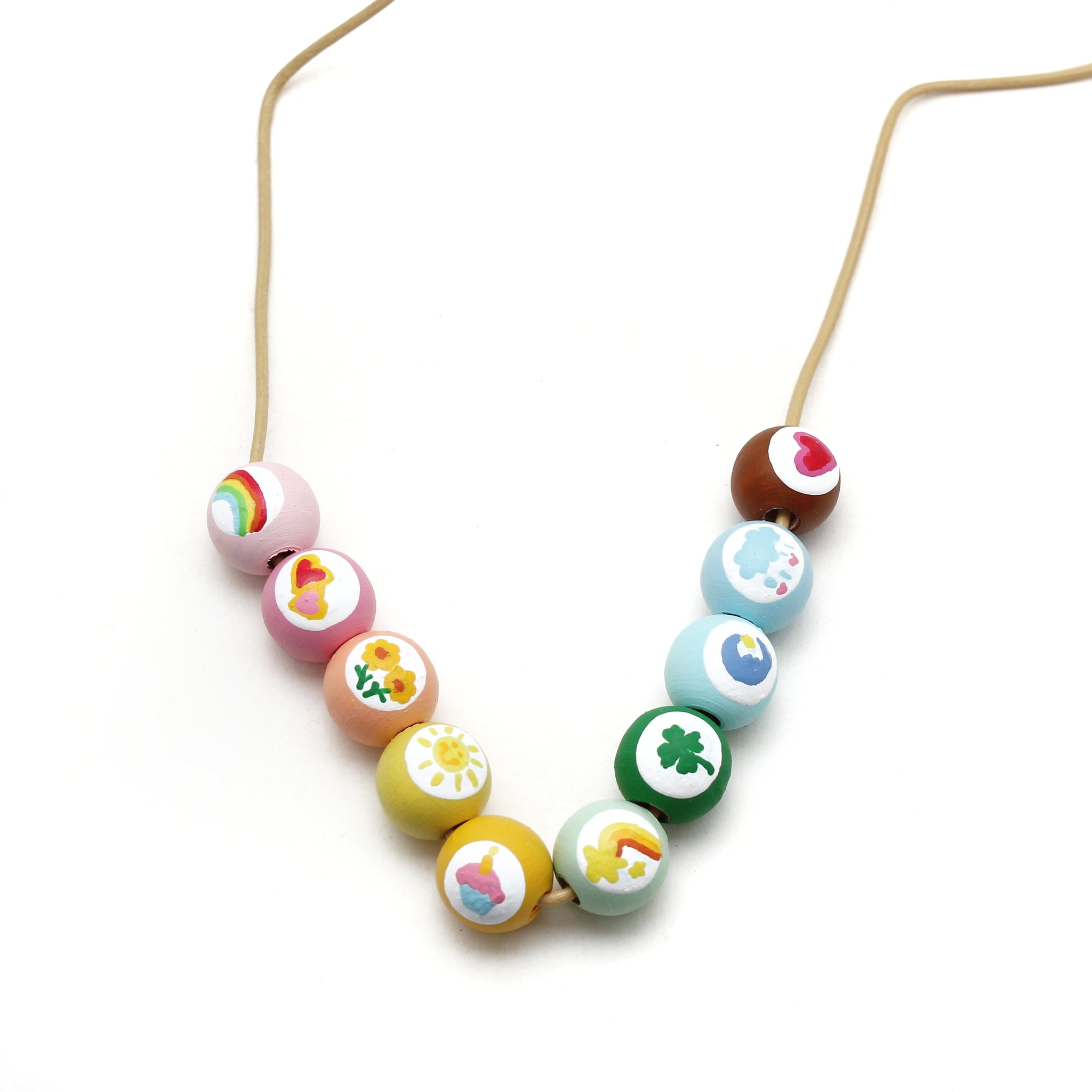 Care Bears Hand Painted Necklace - Care Bears Collab