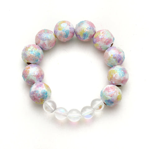 The Judy, Opal, Hand Painted Bracelet