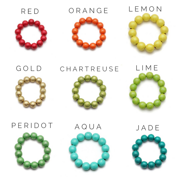 Petite All That Glitters Pick 2 Stack and Save Hand Painted Bracelets