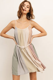 Muted Marina Dress