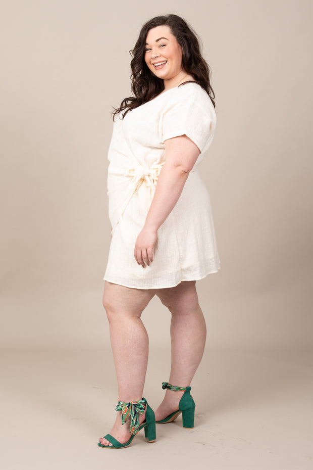 Charleston Girl Wrap Dress - Curvy