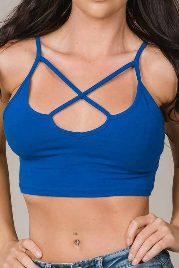 Cross My Heart Bralettes (4 colors)