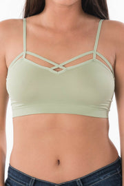 Crossing Paths Bralette (6 colors)