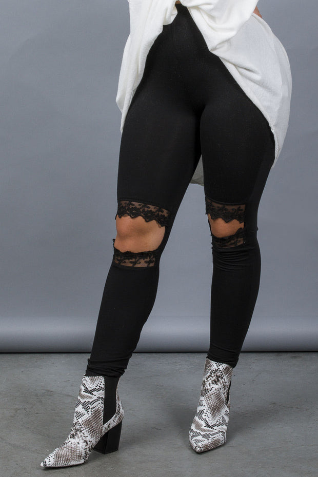 Cut It Out Leggings