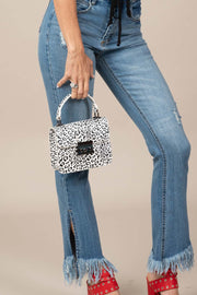 Dainty Darlin' Leopard Purse