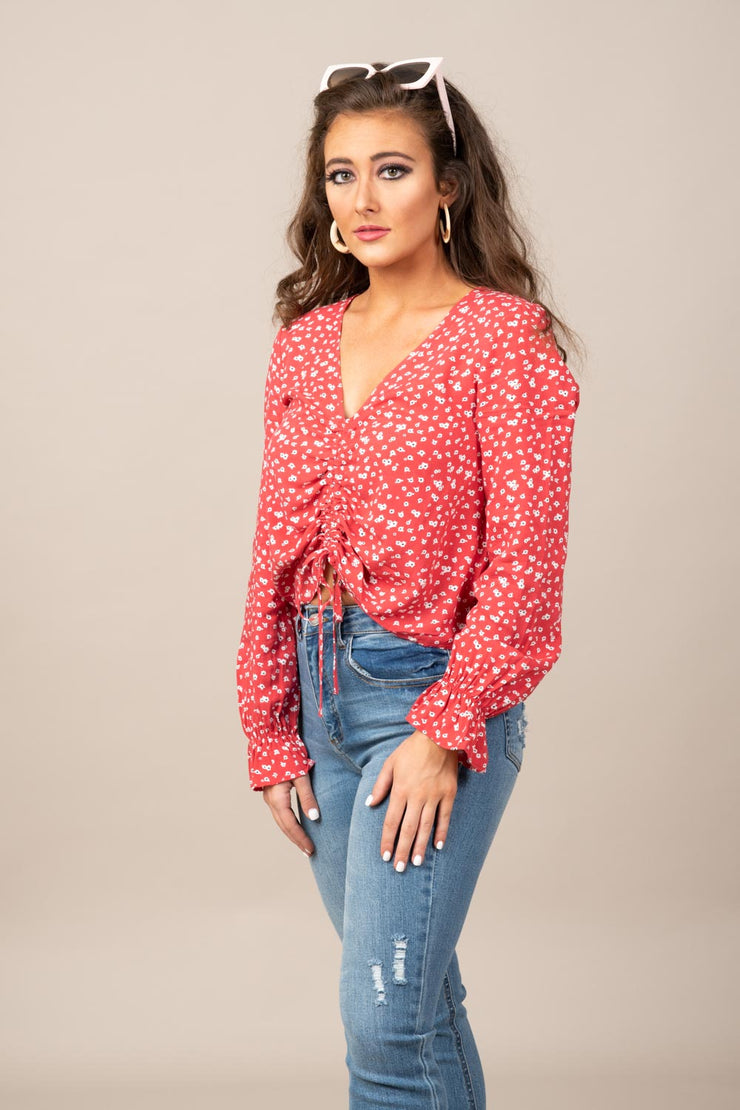 Easy Going Floral Top
