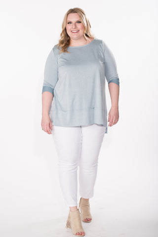 Loose Fit Tunic - Plus