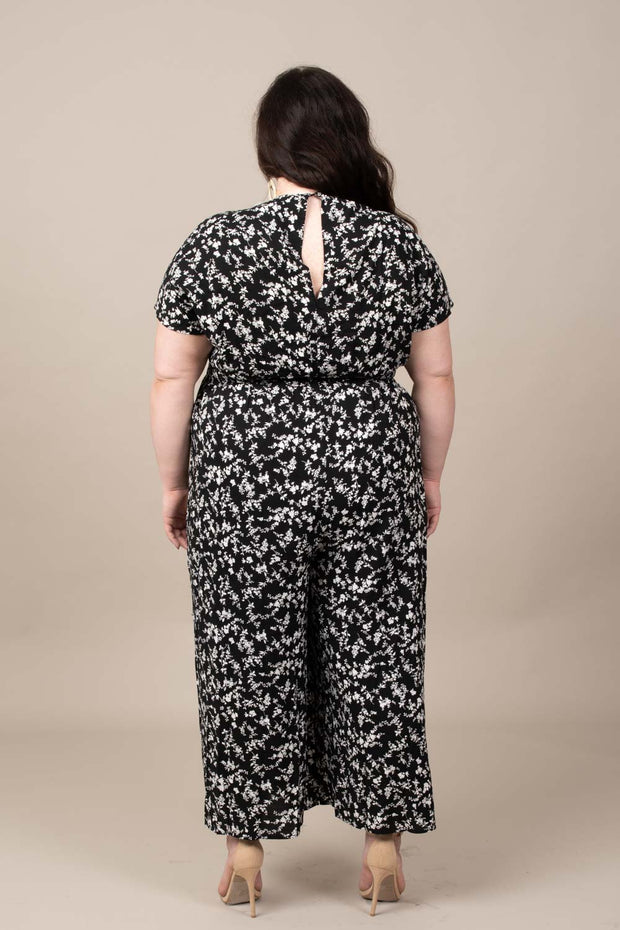 Floral Feels Jumpsuit - Curvy