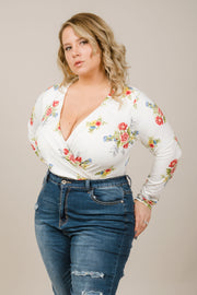 Flower Moves Bodysuit - Curvy