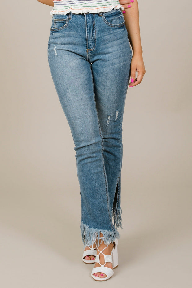 Forever Frayed Jeans