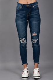 *PRE-ORDER* Get Rowdy Distressed Jeans