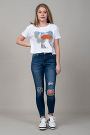 Get Rowdy Distressed Jeans