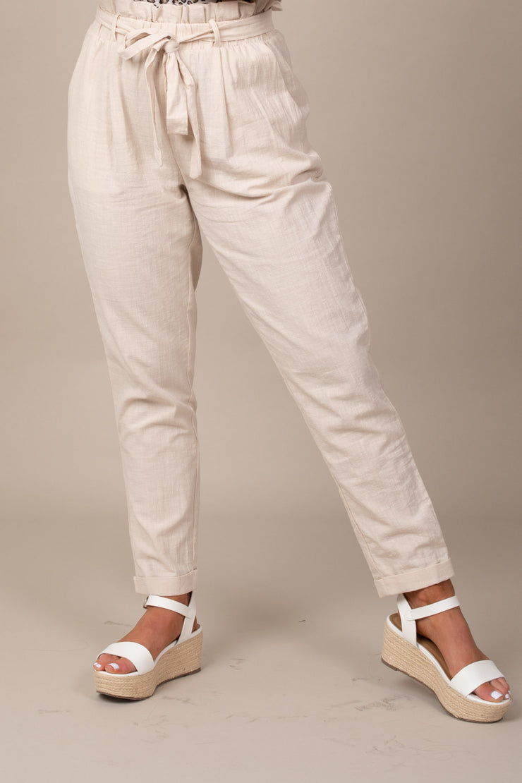 Golden Hour Linen Pants