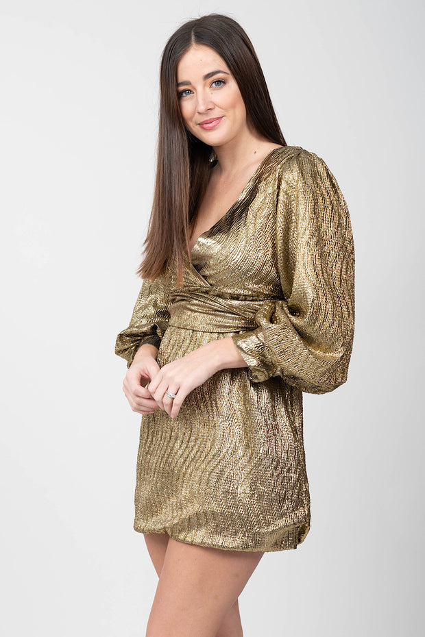 Golden Goddess Dress