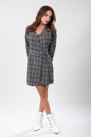 Plaid Obsessed Dress