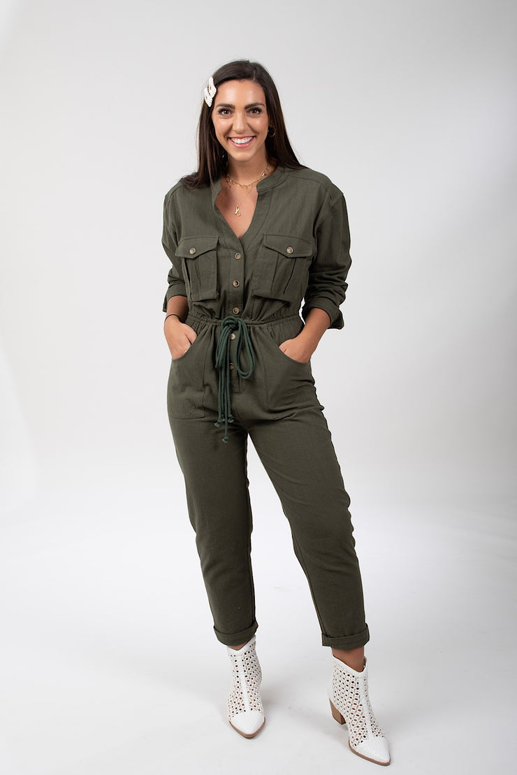Get To Work Jumpsuit
