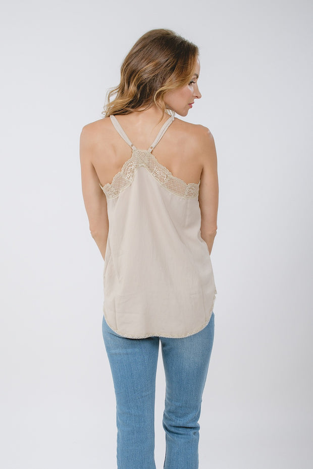 Downtown Lace Cami