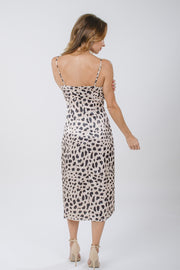 Spotted Slip Dress