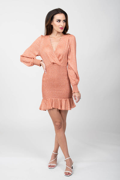 Creamsicle Mini Dress