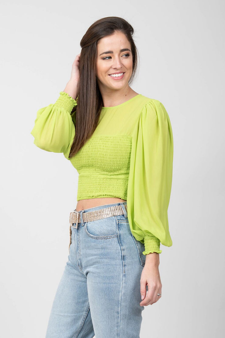 Poppy Crop Top