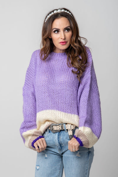 Lavender Dreams Sweater