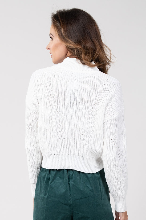 Make Your Mark Turtleneck Sweater