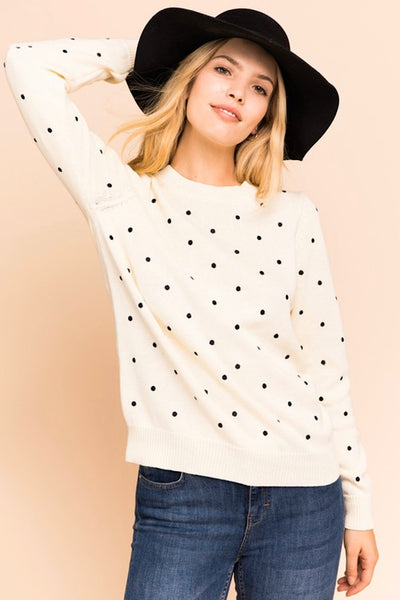 Polka Dot Sweater