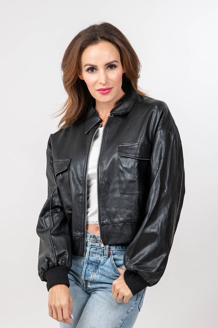 Ride With Me Leather Jacket