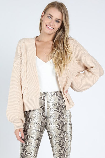 Just The Right Knit Cardigan