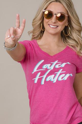 Later Hater Graphic Tee