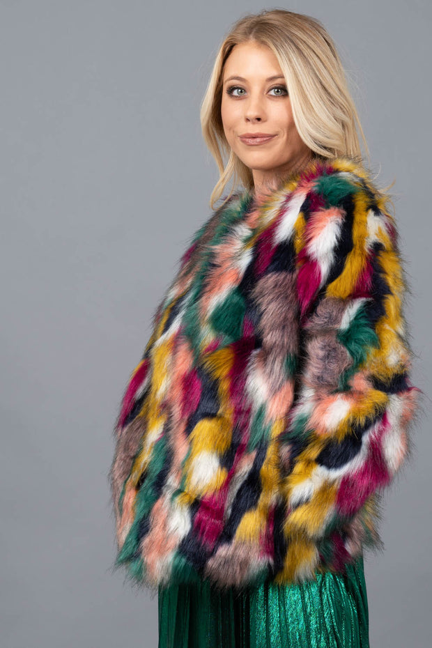 Long Weekend Faux Fur Jacket