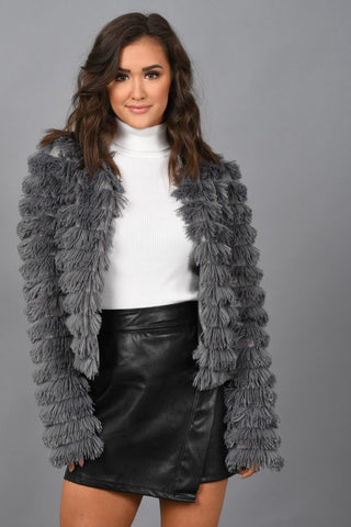 Look At Me Now Faux Fur Jacket