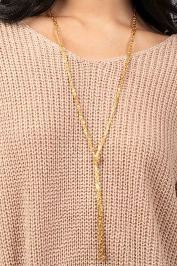 Love You Knot Necklace
