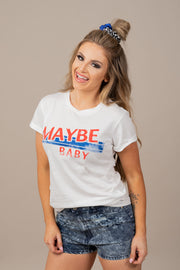 Maybe Baby Graphic Tee