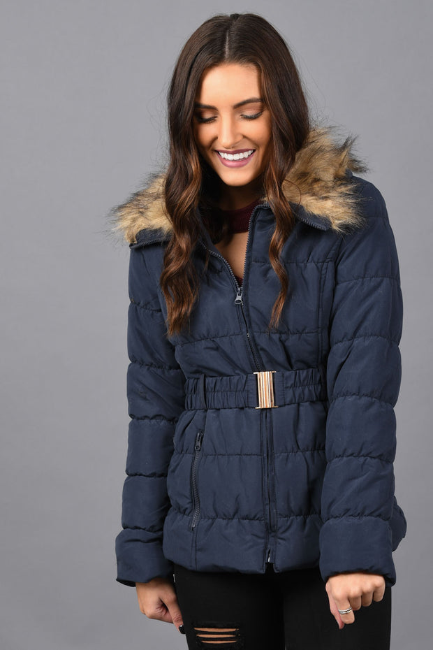 Baby It's Cold Outside Puffer Jacket