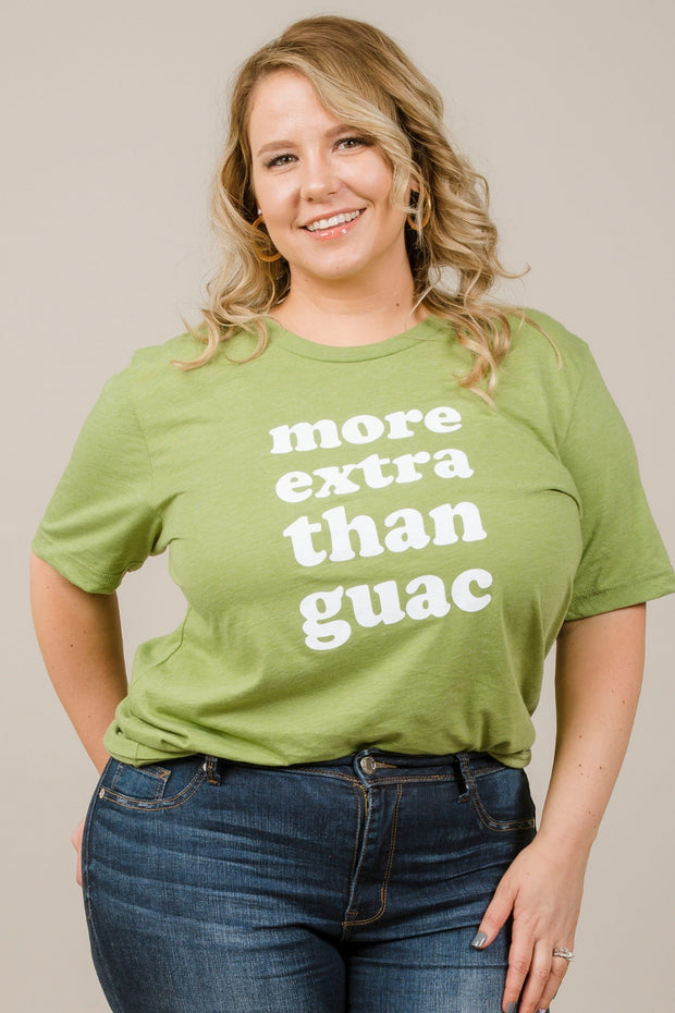 More Extra Than Guac Tee - Curvy