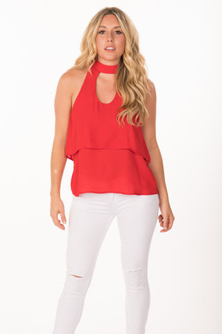 Tiered Keyhole Top